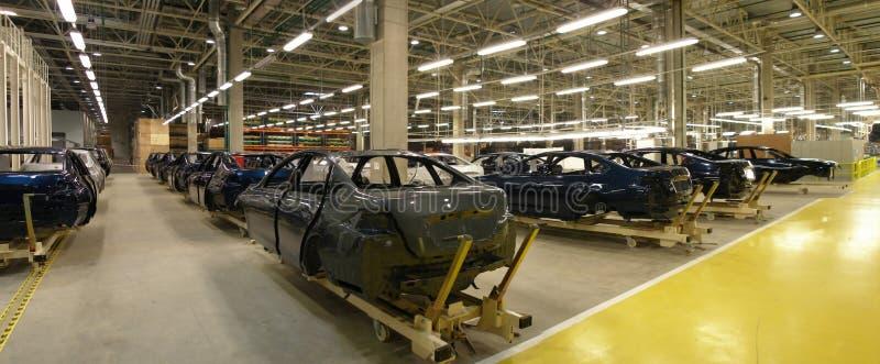Motor-car factory royalty free stock photography
