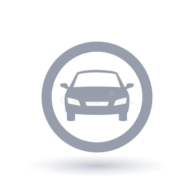 Motor Car Icon. Automobile Transport Sign. Vehicle Symbol. Stock ...