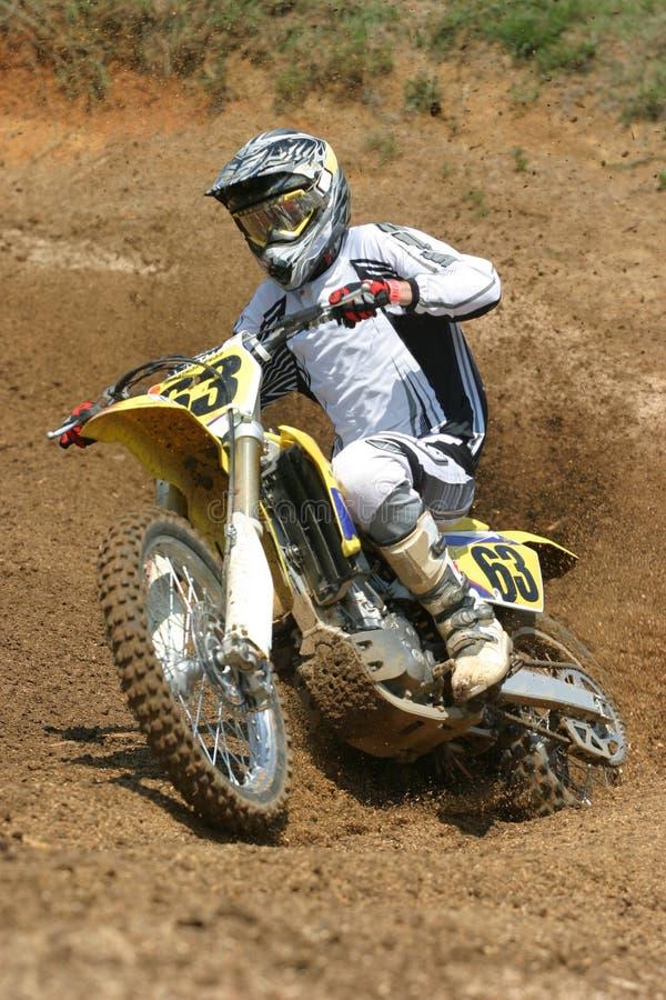 Motor Cycle Turn stock photos