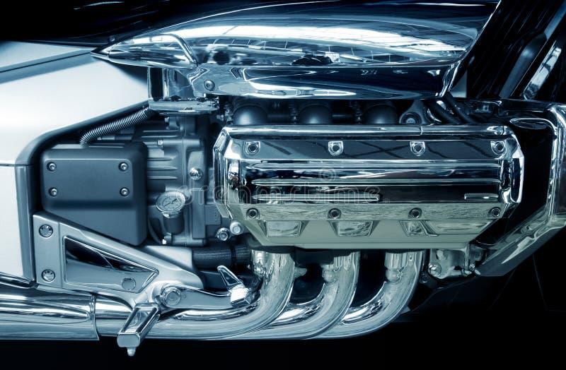 Motor da motocicleta imagens de stock royalty free