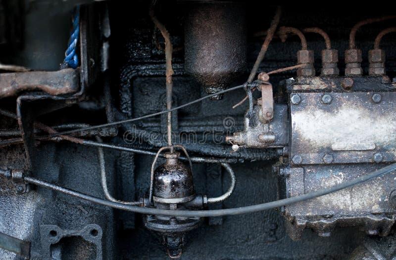 Motor de alimentador viejo foto de archivo