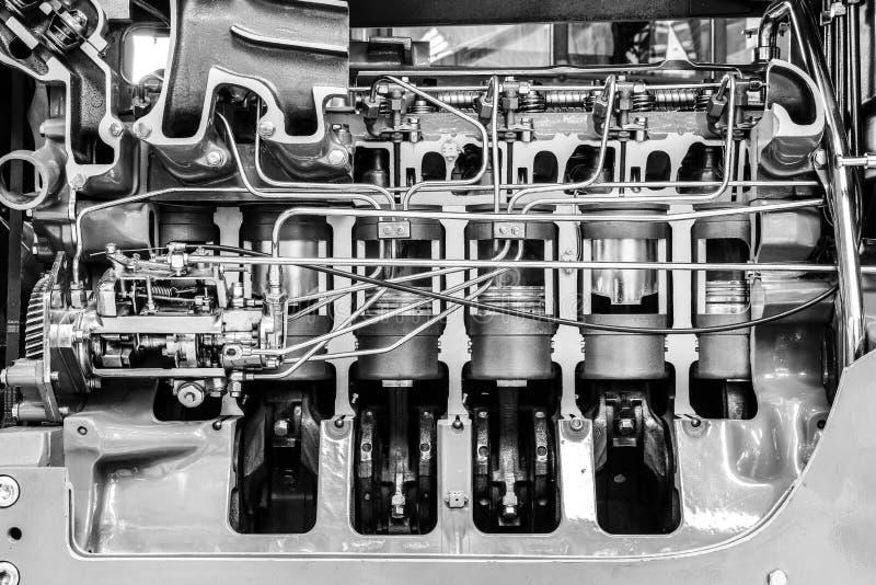 Motor de automóveis fotografia de stock royalty free
