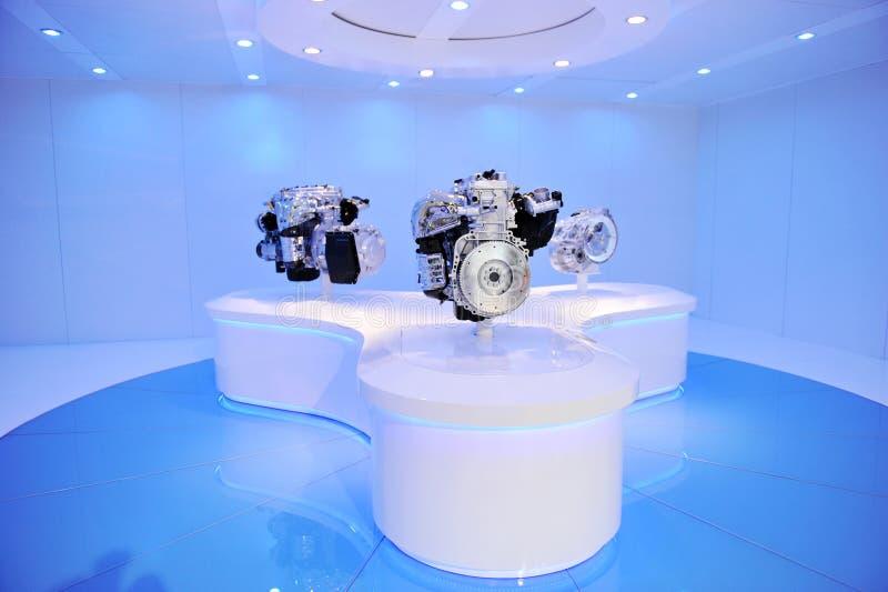 Motor de automóveis brandnew imagem de stock royalty free