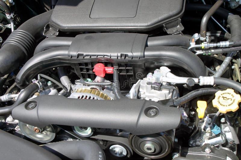 Motor de automóveis novo imagens de stock royalty free