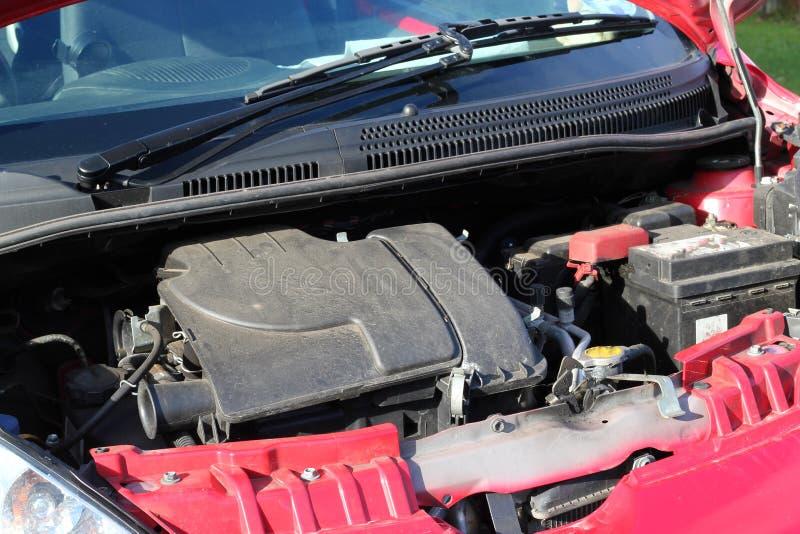 Motor de automóveis pequeno. fotos de stock royalty free