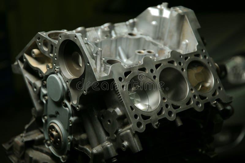 Motor de autom?veis desmontado fotos de stock royalty free
