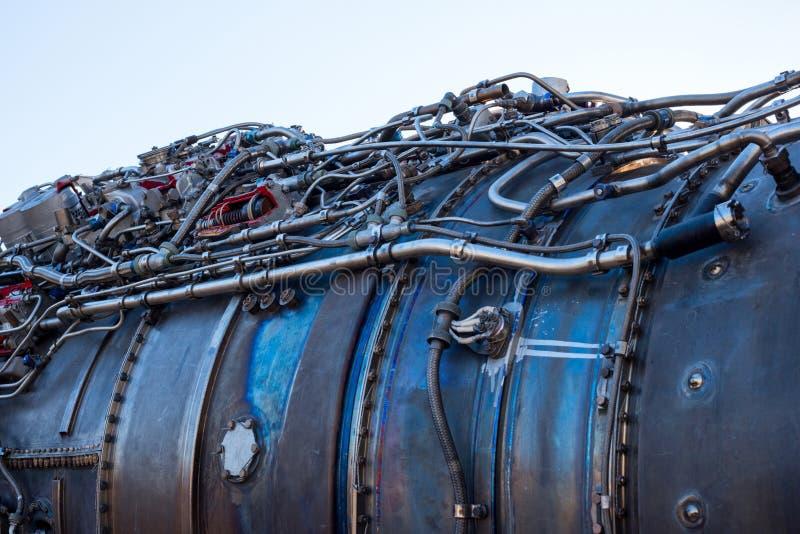 motor de aviões foto de stock royalty free