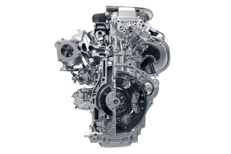 Motor de coche. imagen de archivo