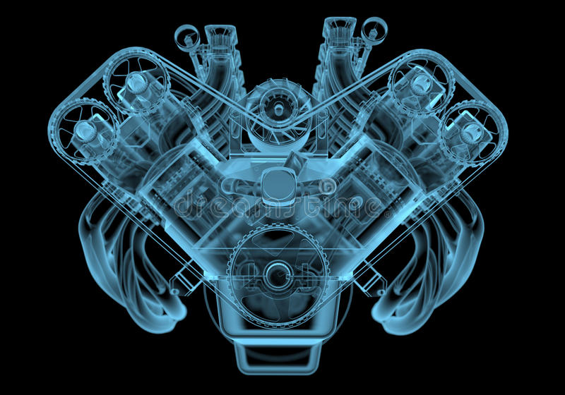 Motor de coche libre illustration