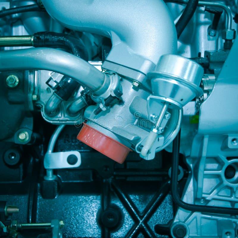 Motor de coche auto de la industria fotos de archivo