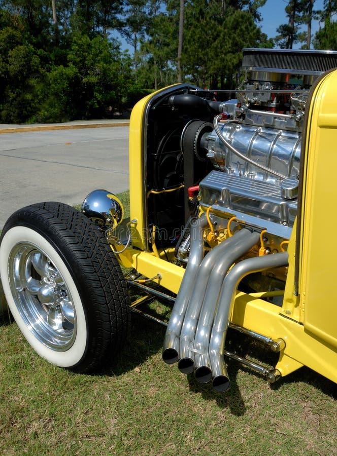 Motor de coche de la barra caliente fotos de archivo