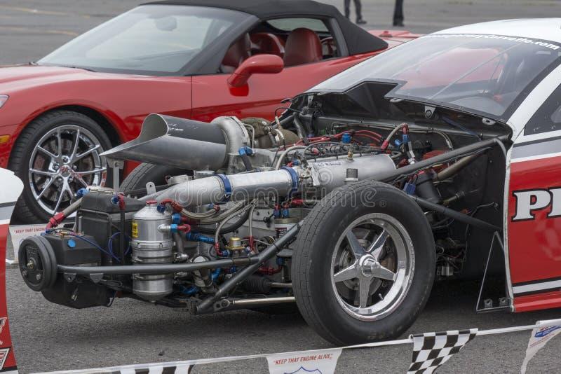 Motor de coche de la fricción imágenes de archivo libres de regalías