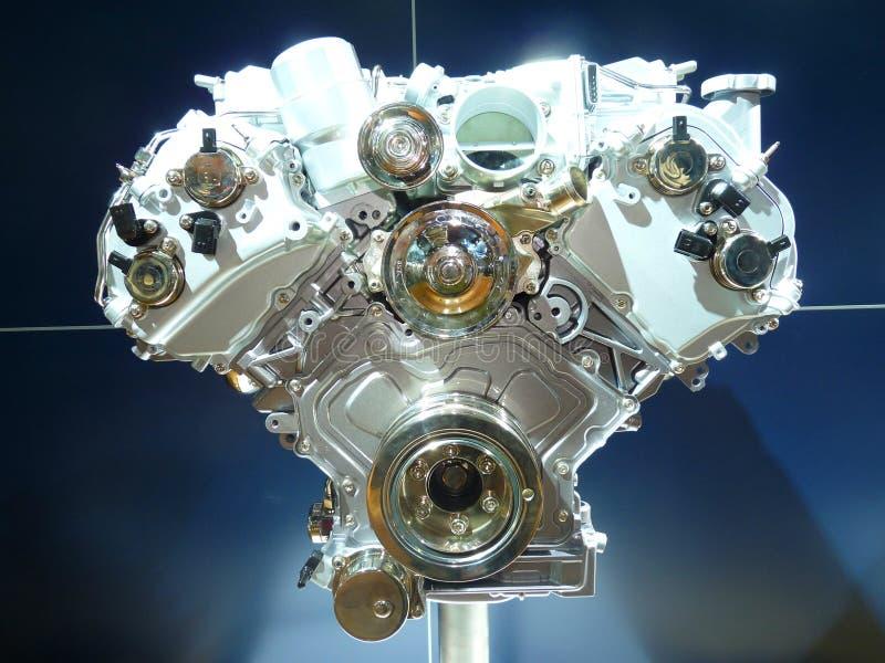 Motor de coche a estrenar fotos de archivo