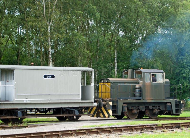 Motor de diesel imagem de stock royalty free