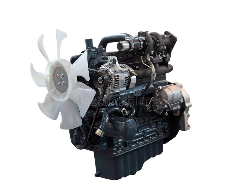 Motor de diesel fotografia de stock