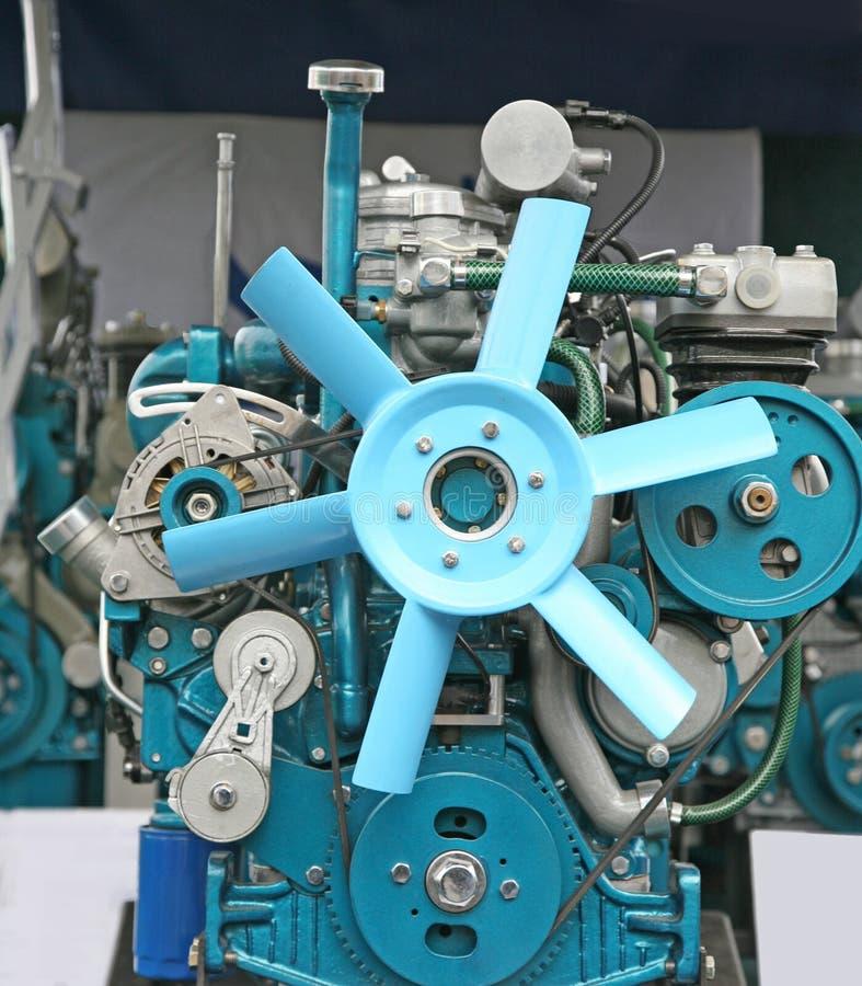 Motor diesel foto de stock