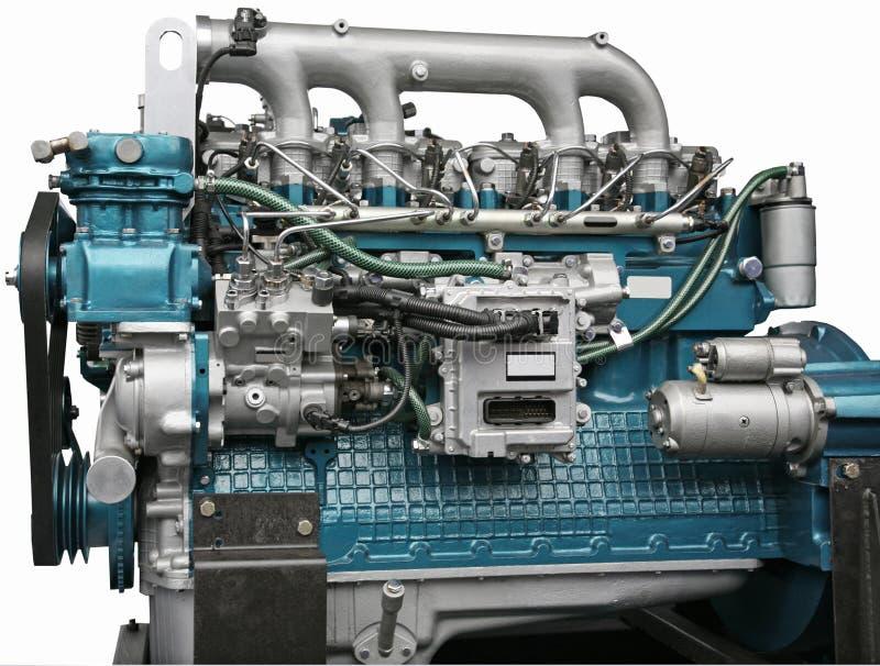 Motor de diesel foto de stock