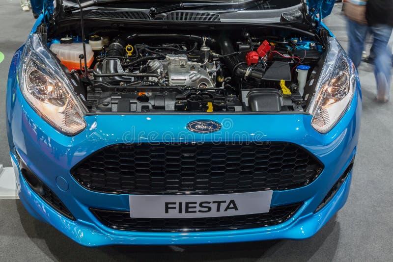 Motor de Ford Fiesta fotografia de stock royalty free