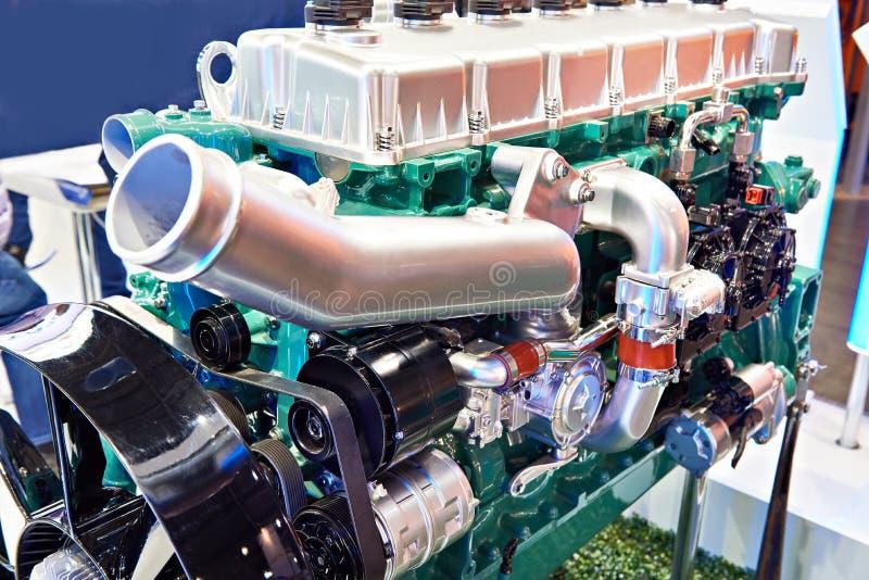 Motor de gas natural fotografía de archivo