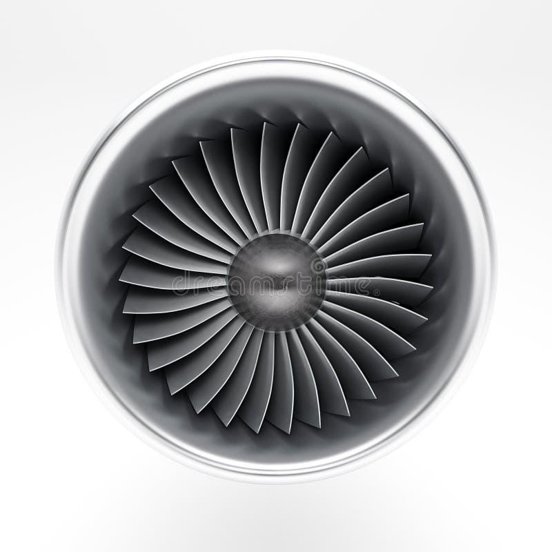 Motor de jato imagem de stock royalty free