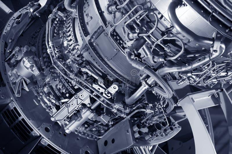 Motor de jet fotografía de archivo