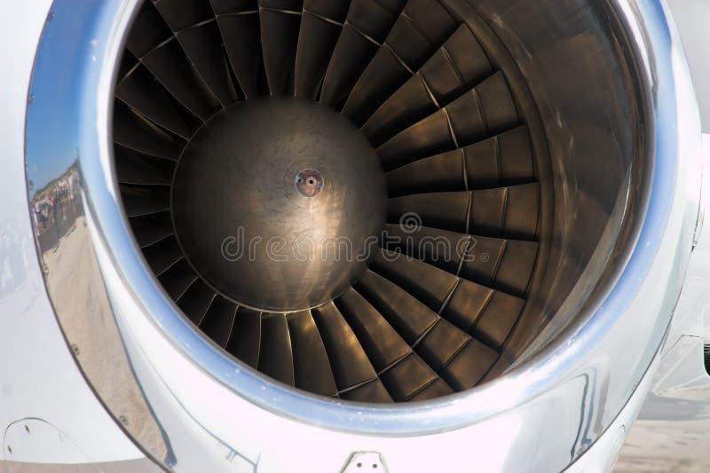 Motor de jet fotografía de archivo libre de regalías