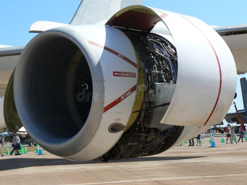 Motor de jet fotos de archivo