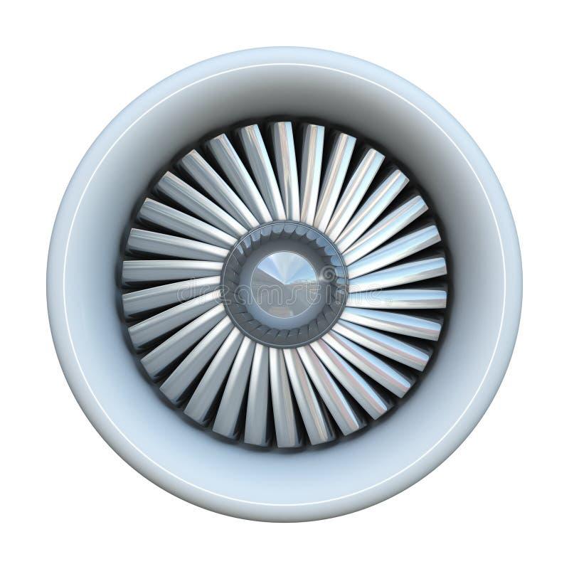 Motor de jet stock de ilustración