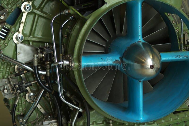 Motor de jet imagen de archivo libre de regalías