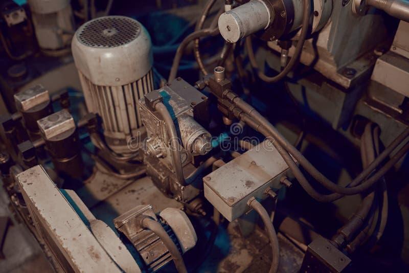 Motor de la máquina foto de archivo