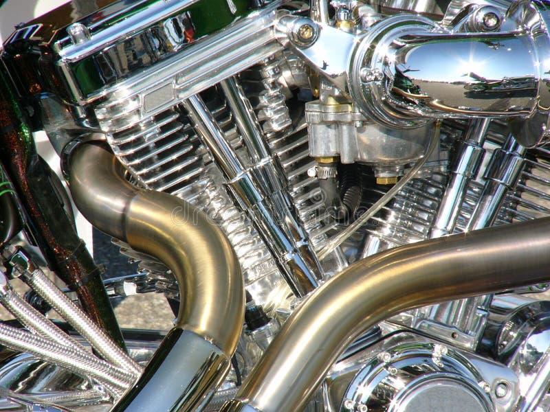 Motor de la motocicleta imagenes de archivo