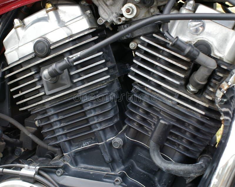 Motor de la motocicleta imágenes de archivo libres de regalías