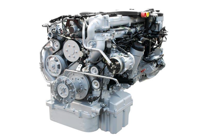 Motor de la potencia del carro pesado foto de archivo libre de regalías