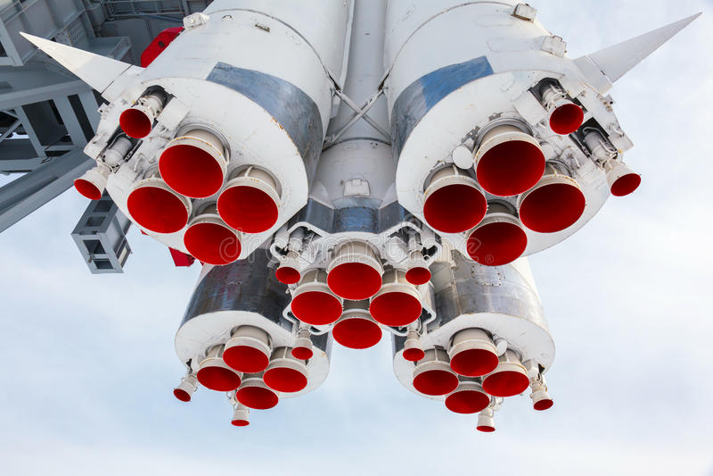 Motor de Rocket foto de stock