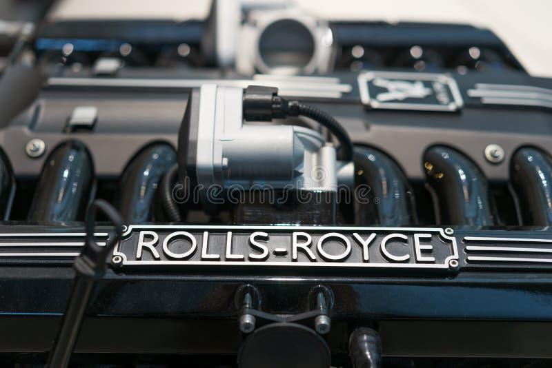 Motor de Rolls royce fotos de stock royalty free
