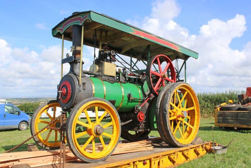 Motor de tracción del vapor foto de archivo libre de regalías