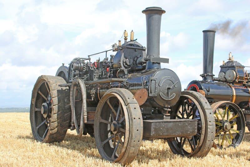 Motor de tracción del vapor imagenes de archivo
