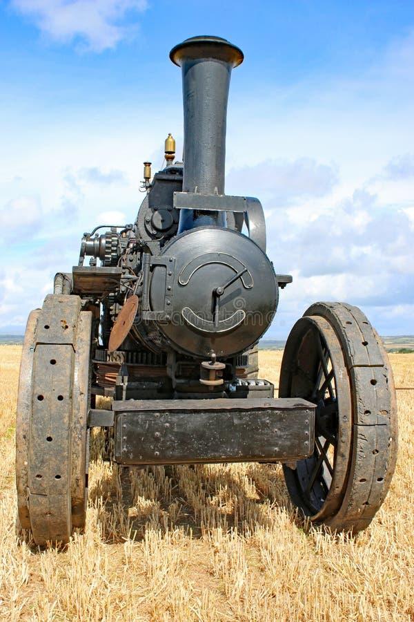 Motor de tracción del vapor imagen de archivo