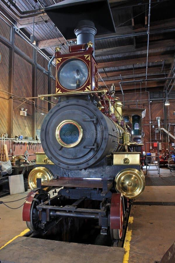 Motor de vapor fotos de archivo libres de regalías