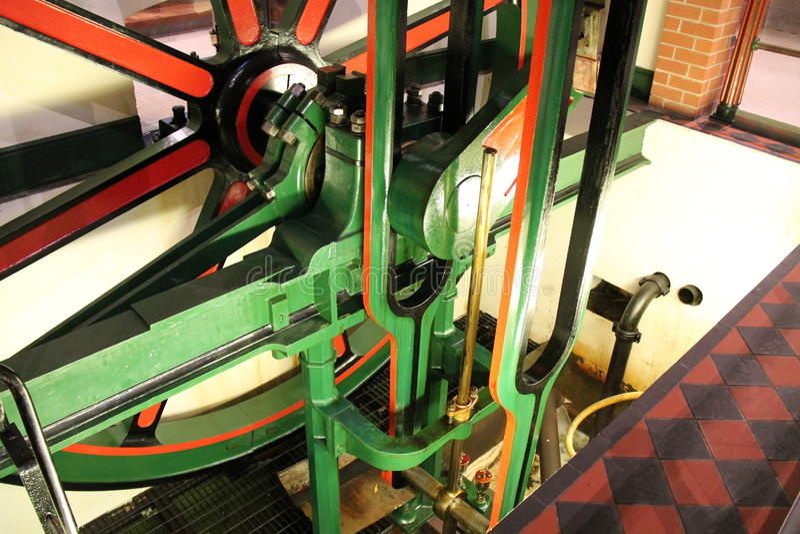 Motor de vapor de estática foto de stock