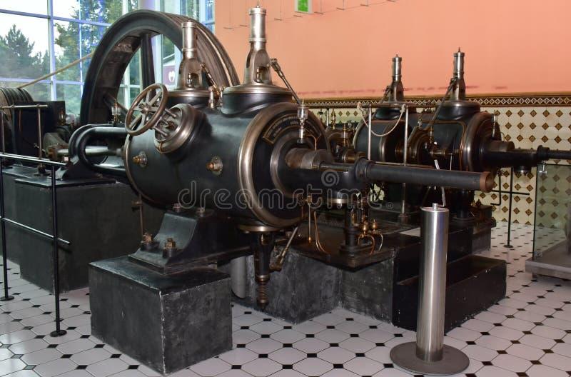 Motor de vapor, República Checa fotos de archivo