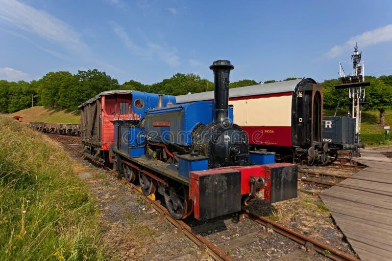 Motor de vapor velho foto de stock