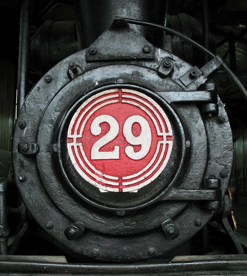 Motor de vapor viejo fotos de archivo libres de regalías