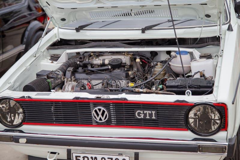 Motor de VW Golf GTI fotografia de stock royalty free