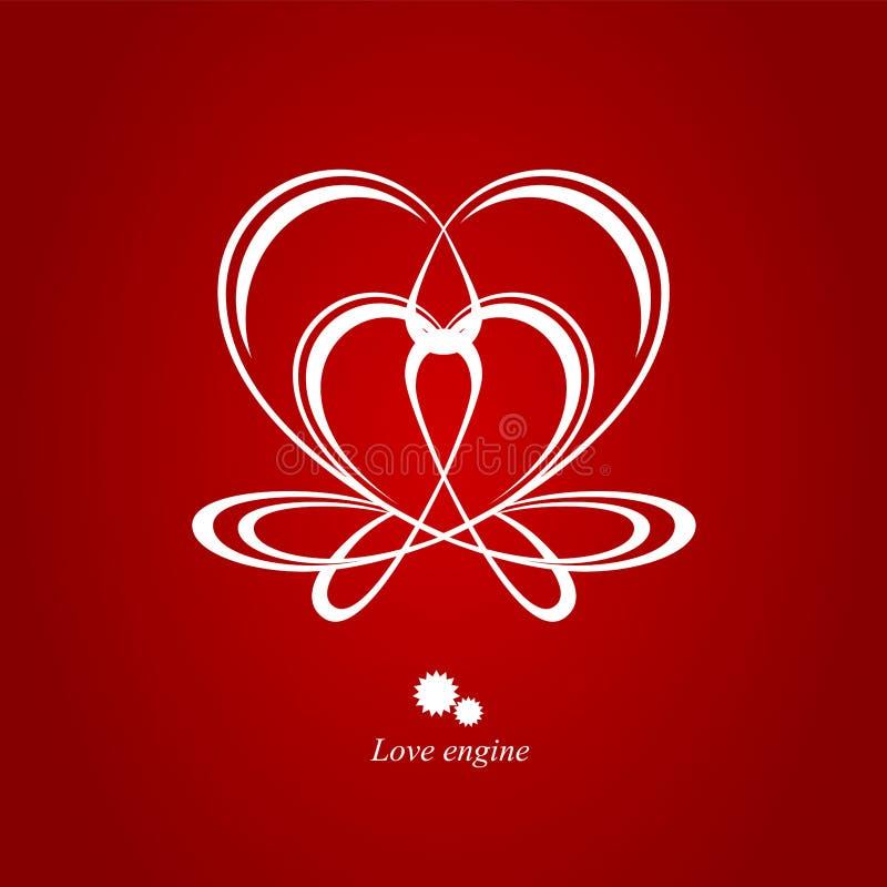 Motor del amor imagen de archivo libre de regalías