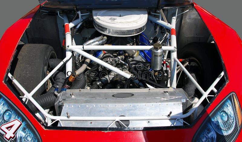 Motor del coche de carreras imagenes de archivo