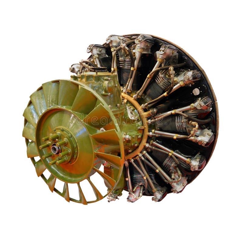 Motor del helicóptero imagen de archivo
