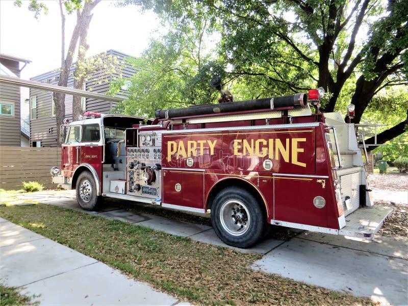 Motor del partido, Austin, Tejas fotos de archivo