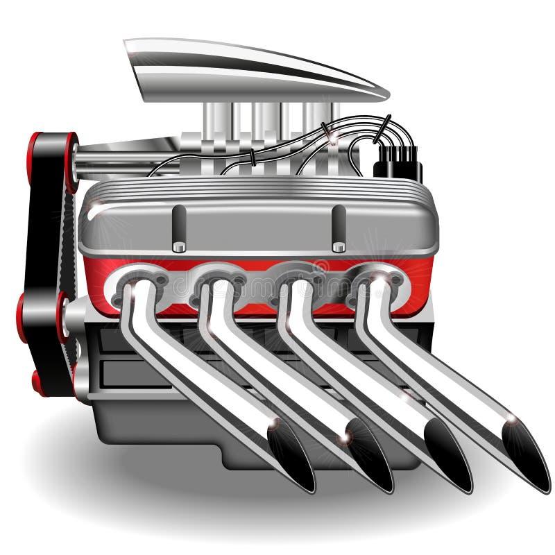 Motor del vector ilustración del vector