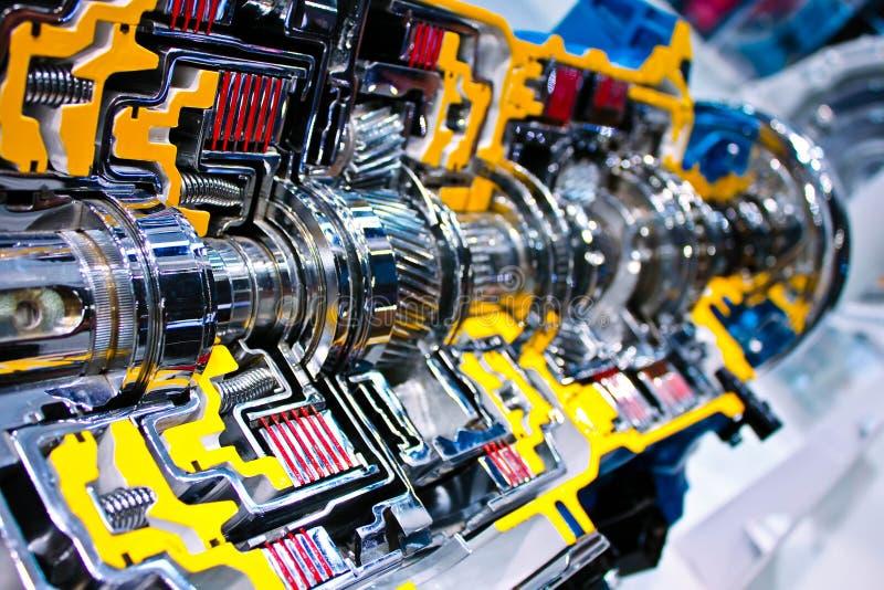 Motor dentro de la visión imagen de archivo